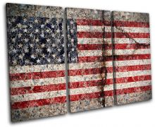 Abstract American Maps Flags - 13-1502(00B)-TR32-LO